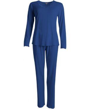 blå pyjamas