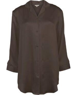 lilla coffee natskjorte