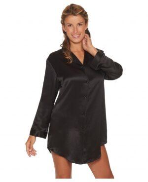 sort natskjorte